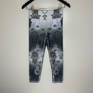 Evolution and Creation Small Cropped Legging